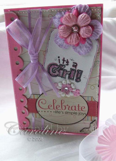 CCC-Its a Girl card1