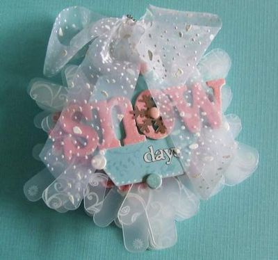 Scrapbook Insp - Maya Road Sheer Snowflake-Coola