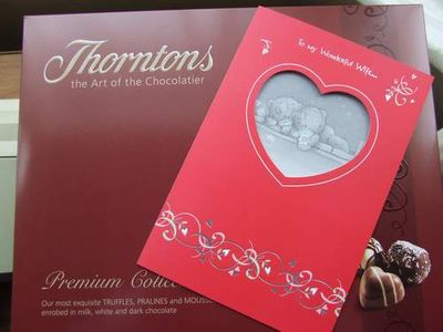 VD-card and chocs