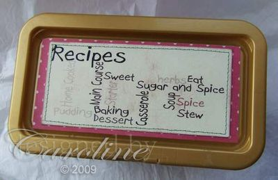Wordle Recipe Box 2
