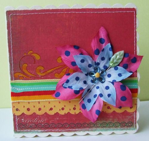 CCC DT - Flower Pin card
