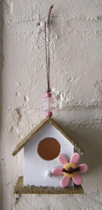 Birdhouse by Caroline