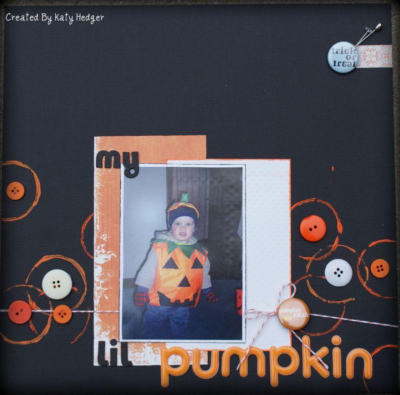 My lil pumpkin!