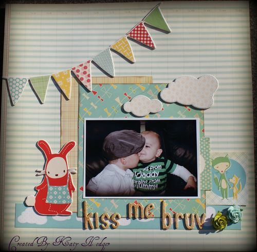 Kiss Me Bruv!! Design team Project
