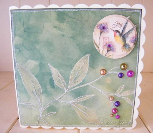 Charmed Cards Projects - Card - Joy1