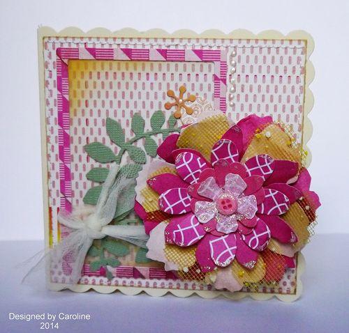 CCC-Pink Flower Card-1