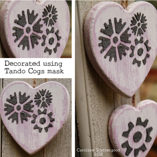 Tando-Wooden Heart and Cogs
