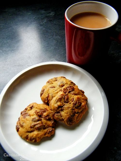 Recipe-Chunky Choc Cookies