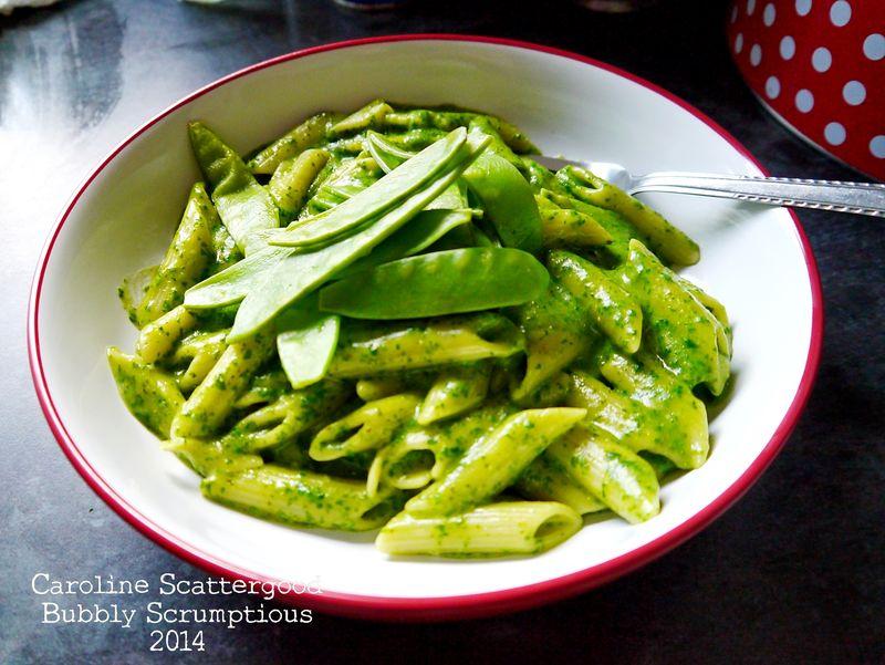 Recipe-SpinachPestoPasta